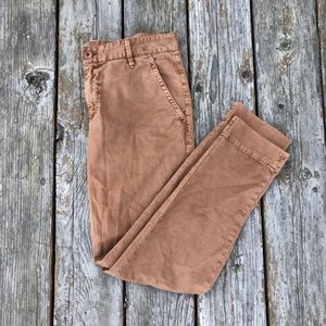 Fossil slim cut pants
